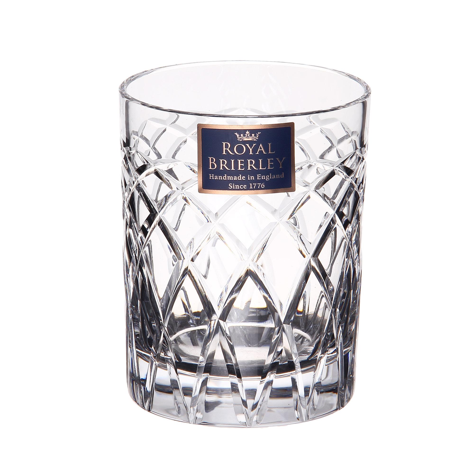 Купить Стакан для виски Dartington crystal harris clear 230мл, Великобритания, хрусталь ручной работы (24% свинца)