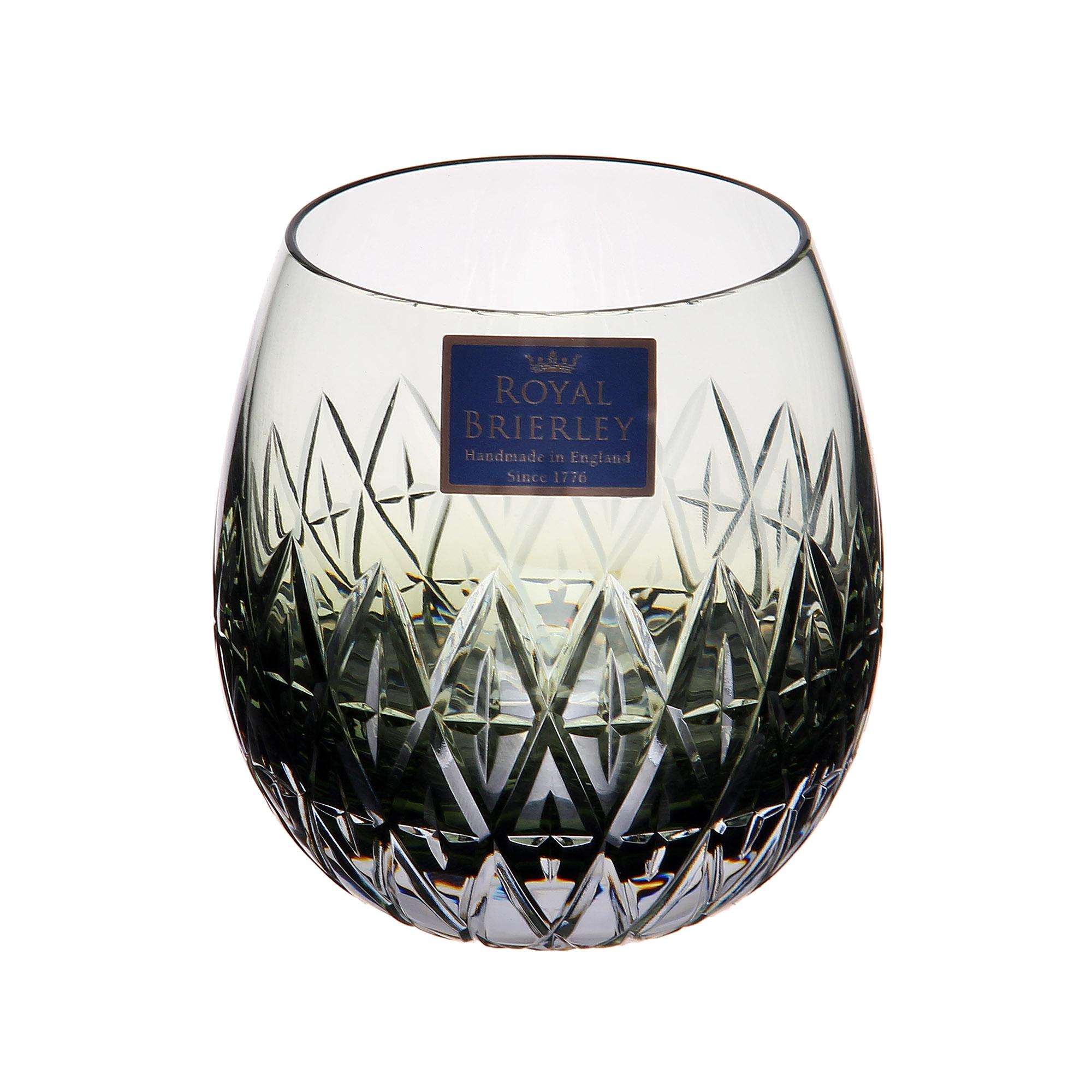Купить Стакан для виски Dartington crystal barra midnight 310мл, Великобритания, хрусталь ручной работы (24% свинца)