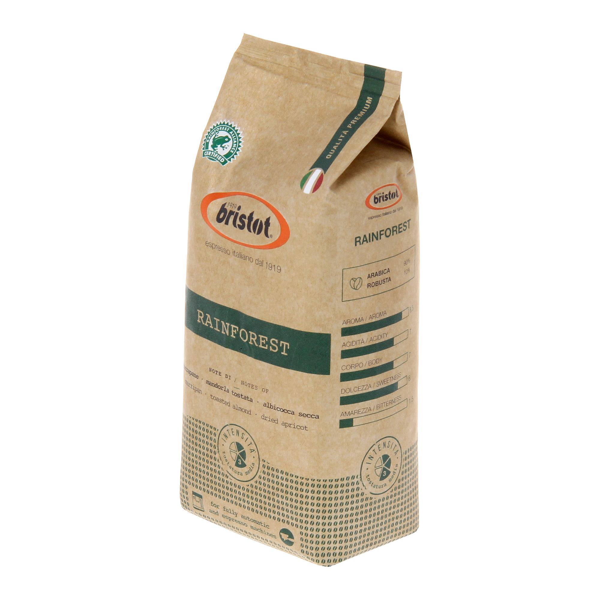 Кофе в зернах Bristot Rainforest premium 500 г lifesize rainforest