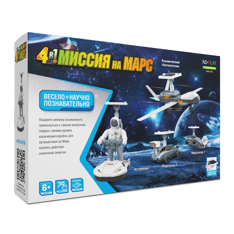 Электронный конструктор ND Play Миссия на Марс 4в1 ольга георгиевна дёмина полёт намарс научный эксперимент
