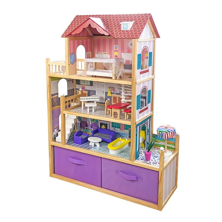 Домик кукольный Lanaland Елизавета с аксессуарами фото