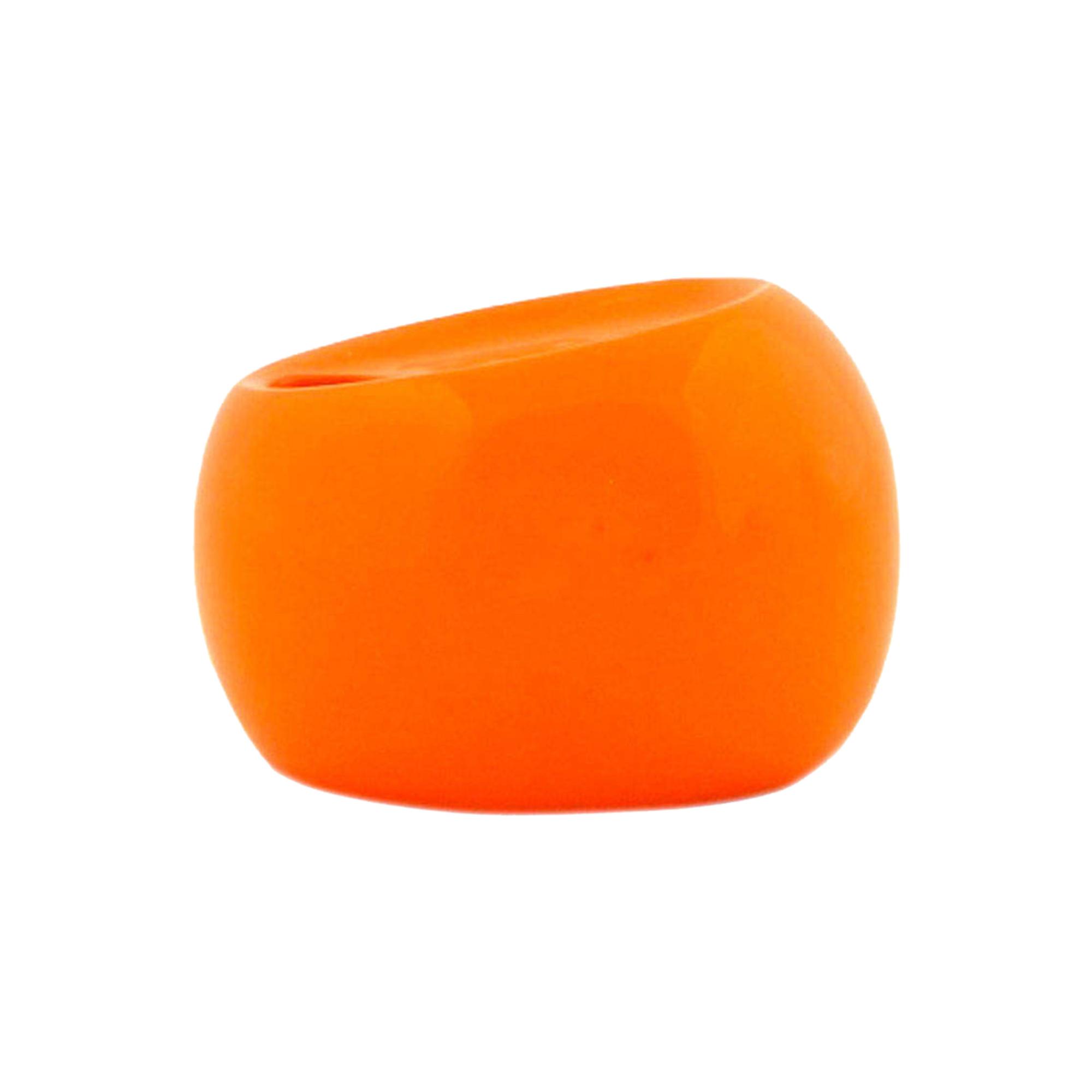 Фото - Стакан для зубных щёток Primanova Nora оранжевый 11х8х9 см стакан для зубных щёток primanova garden