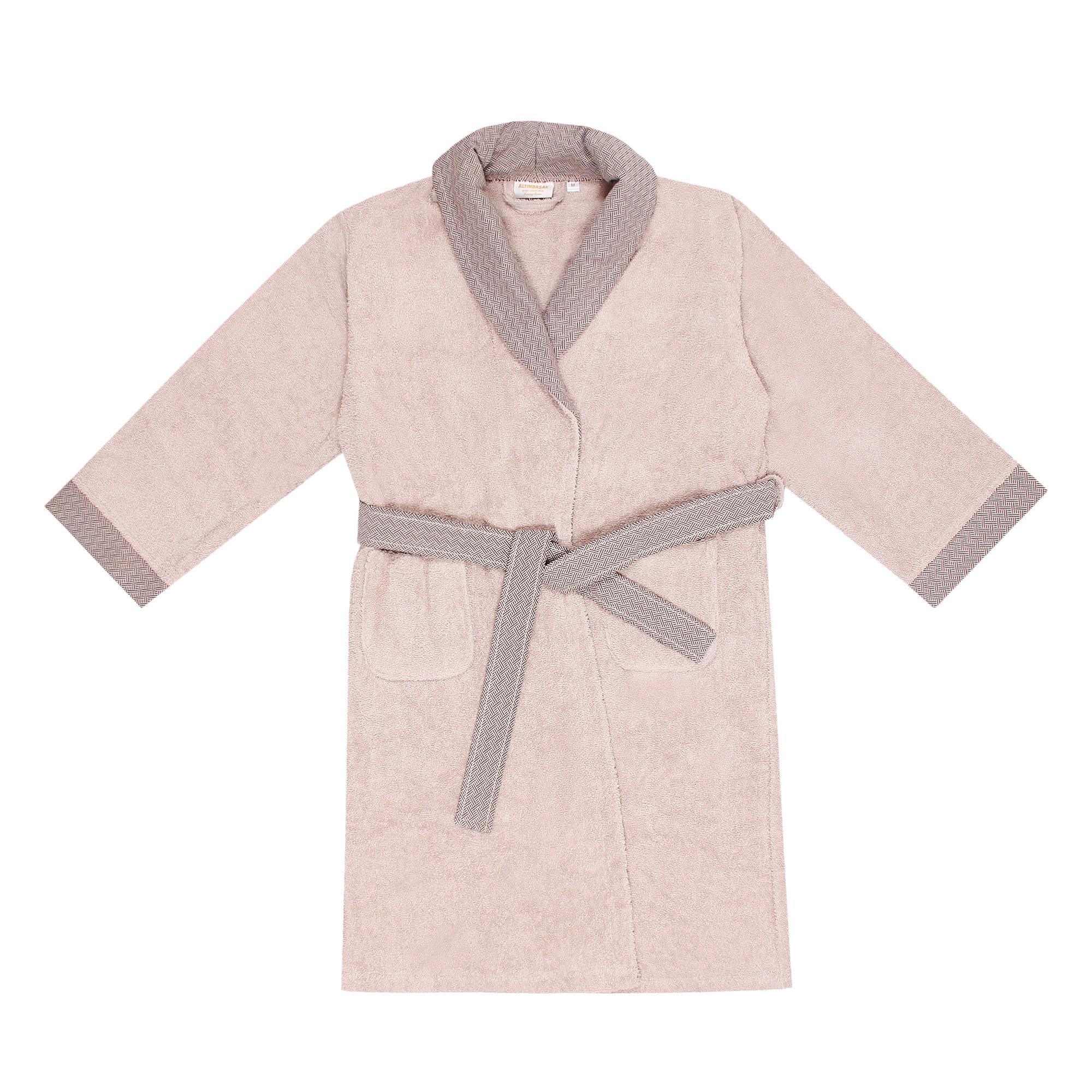 Халат мужской Altinbasak 5xl+2 полотенца 50х90/90х150