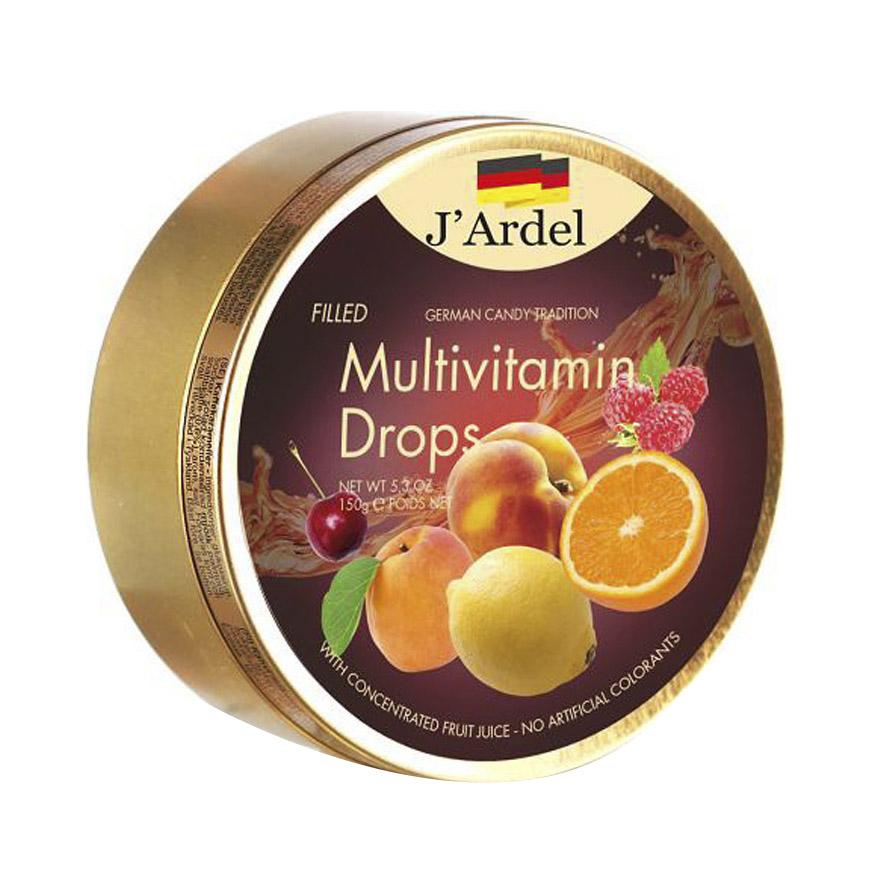 кармолис леденцы с медом 75 г Леденцы J'Ardel мультивитамин с фруктовой начинкой 150 г