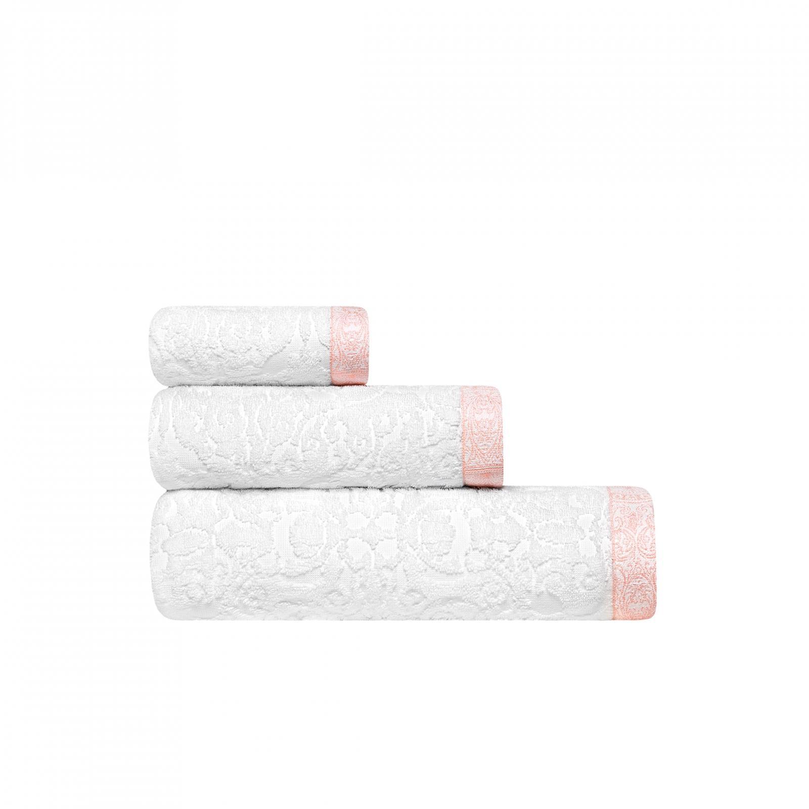 Фото - Комплект полотенец Togas Элизабет 40х60/50х100/70х140 см 3 шт комплект полотенец togas миэль темно серый 2 пр 50х100 70х140