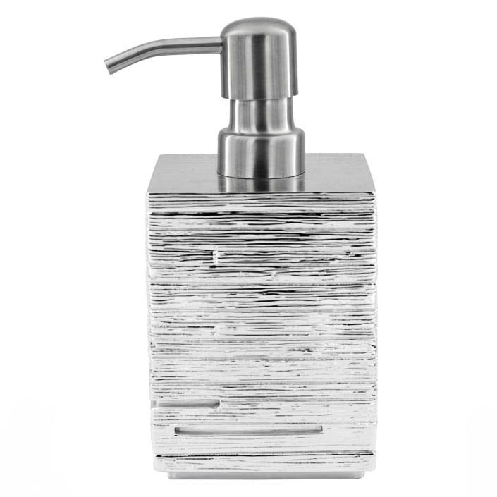 Дозатор для жидкого мыла Ridder Brick Silver 430 мл дозатор для жидкого мыла le bain gris