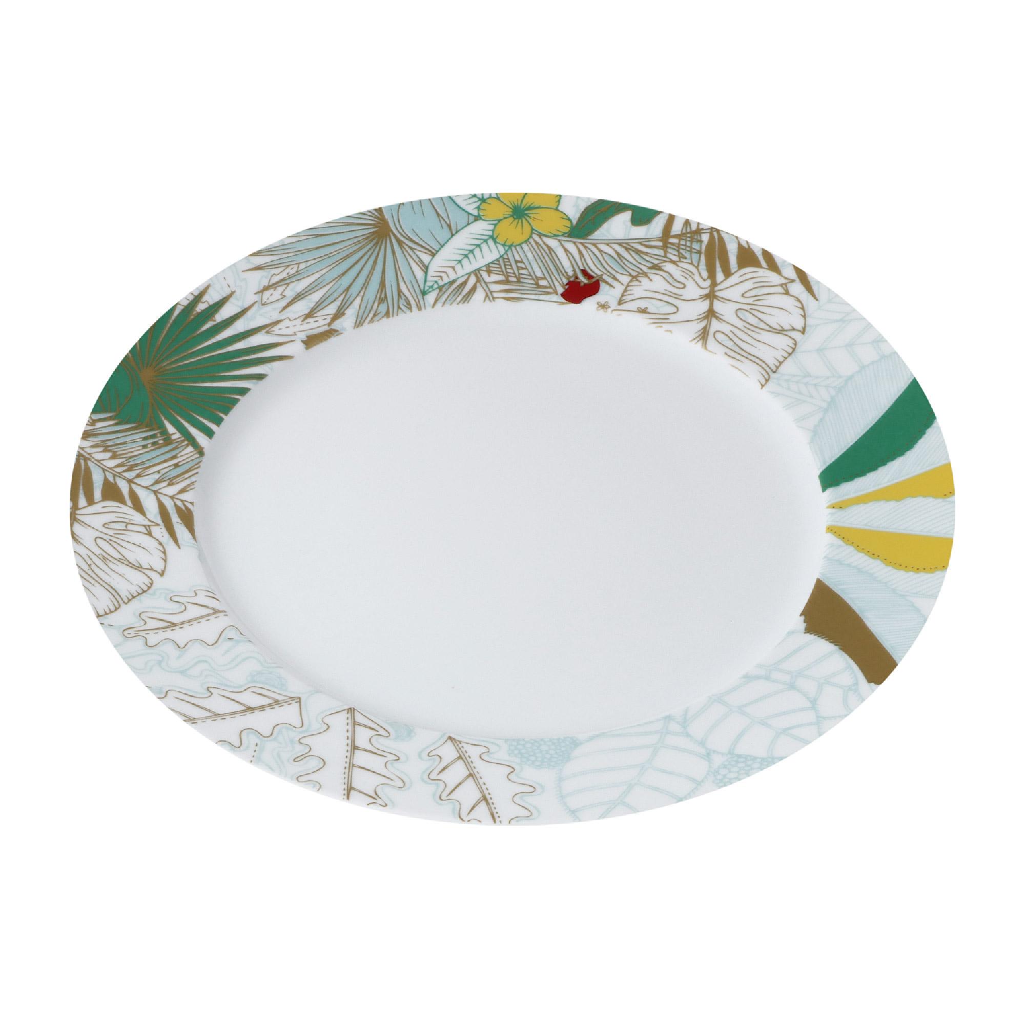 Тарелка Yves de la Rosiere обеденная Остров 27 см тарелка плоская yves de la rosiere cocooning 27 см