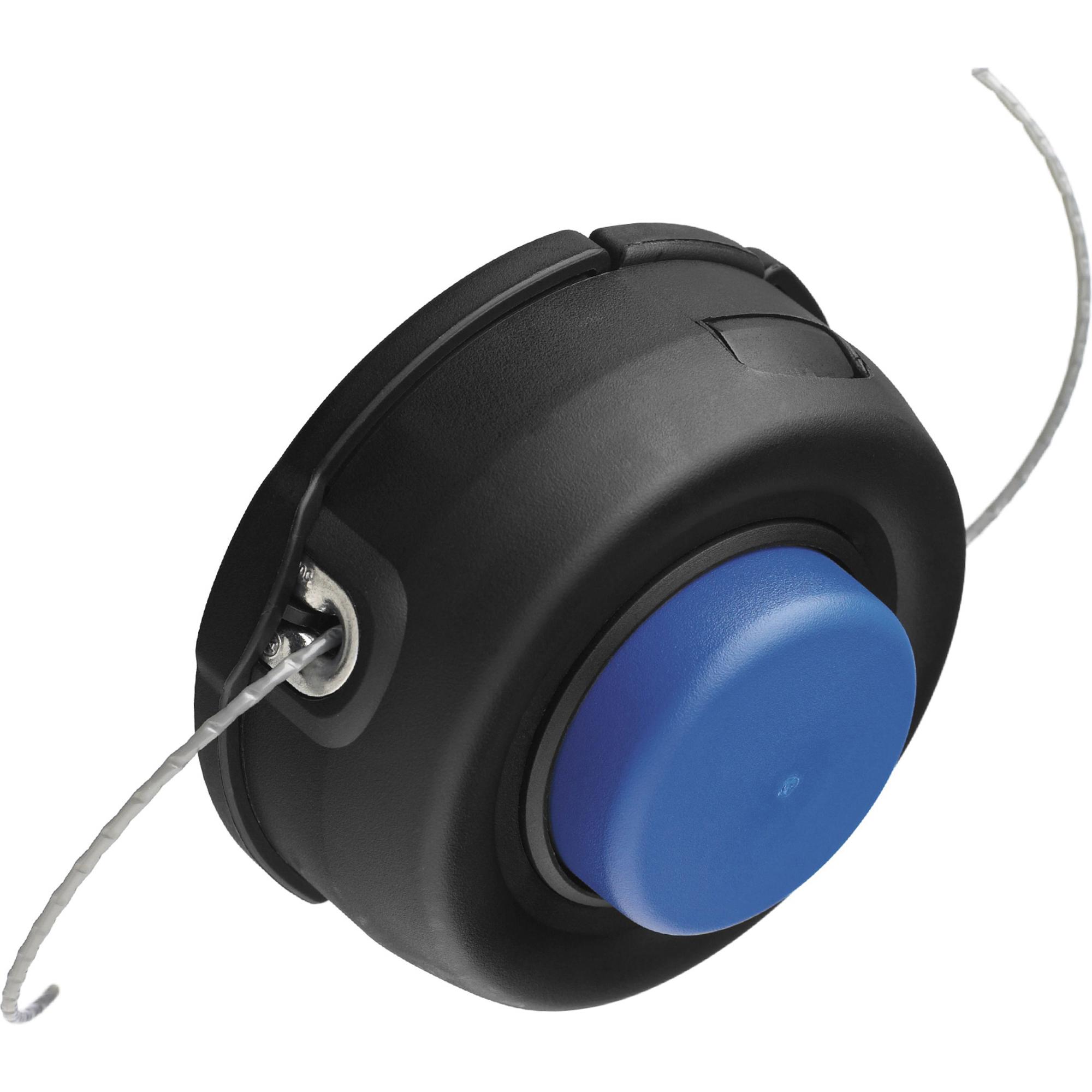 Купить Головка триммерная Husqvarna T35 M12 L, катушка, Швеция, синий, черный, металл, пластик