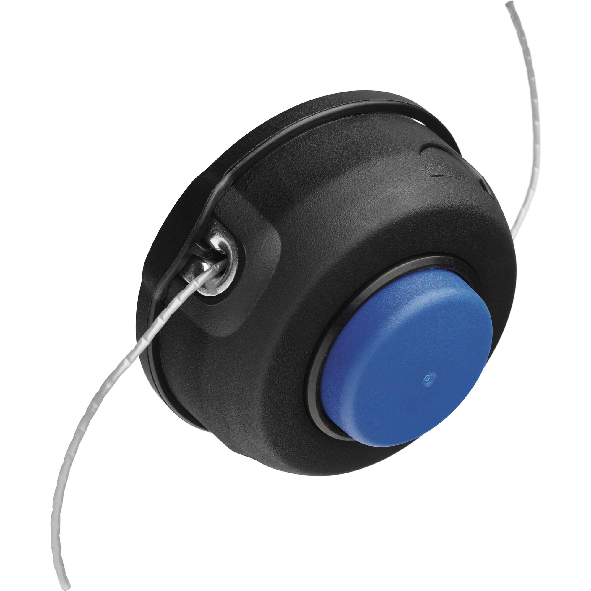 Купить Головка триммерная Husqvarna T25B M8, катушка, Швеция, синий, черный, металл, пластик