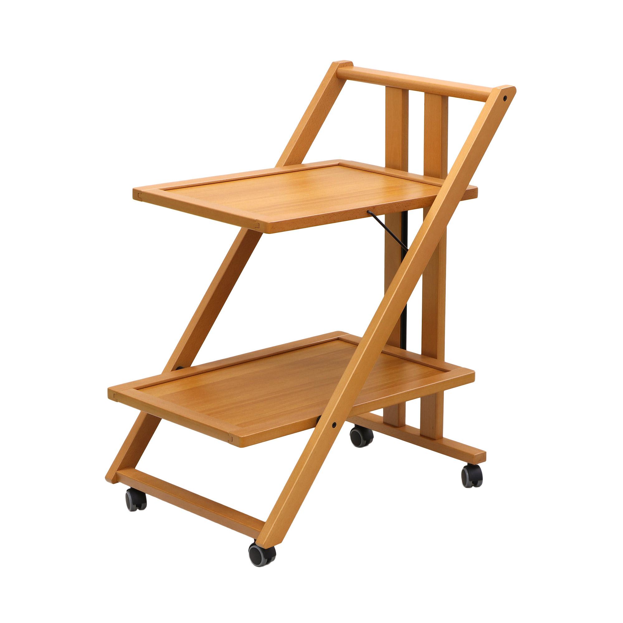 Купить Столик сервировочный на колесах Arit simpaty 2 уровня, столик сервировочный