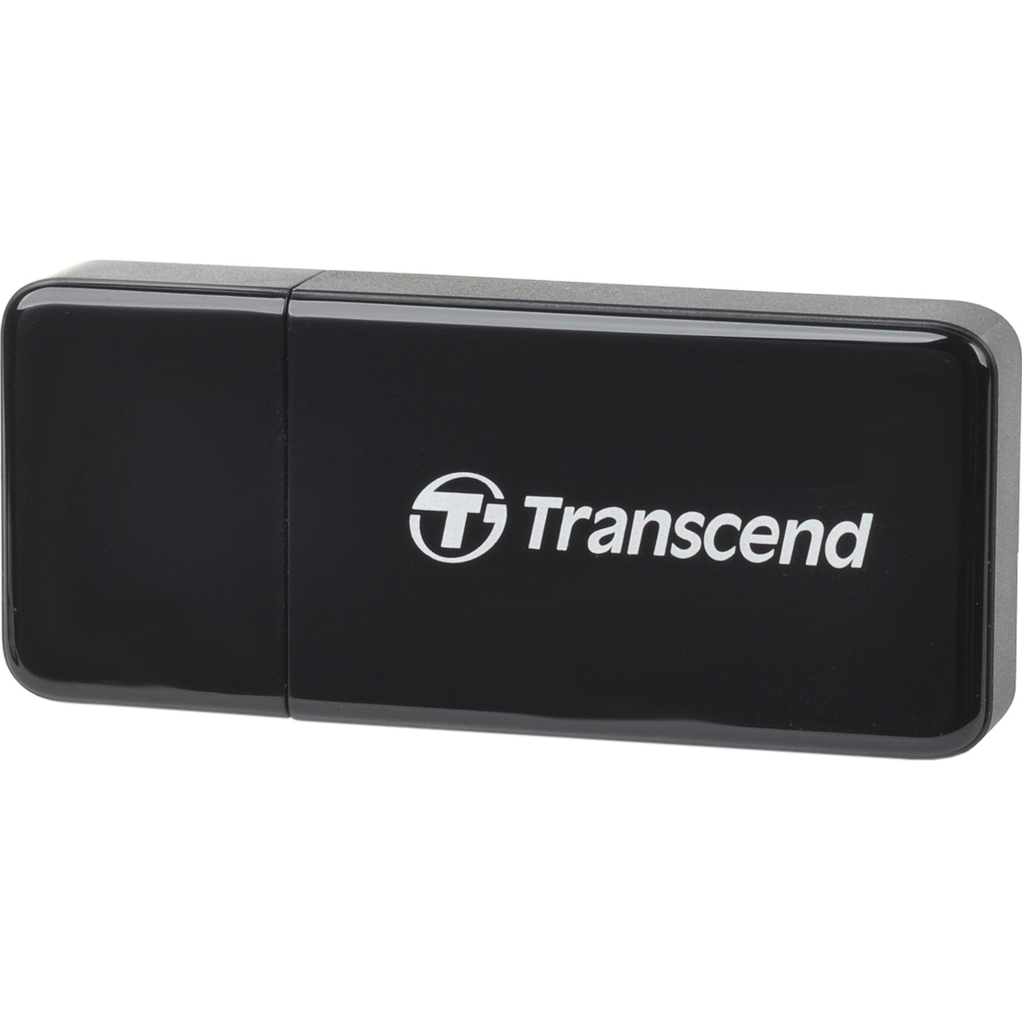 Фото - Картридер Transcend TS-RDF5K Black картридер внешний cbr human friends speed rate multi black microsd