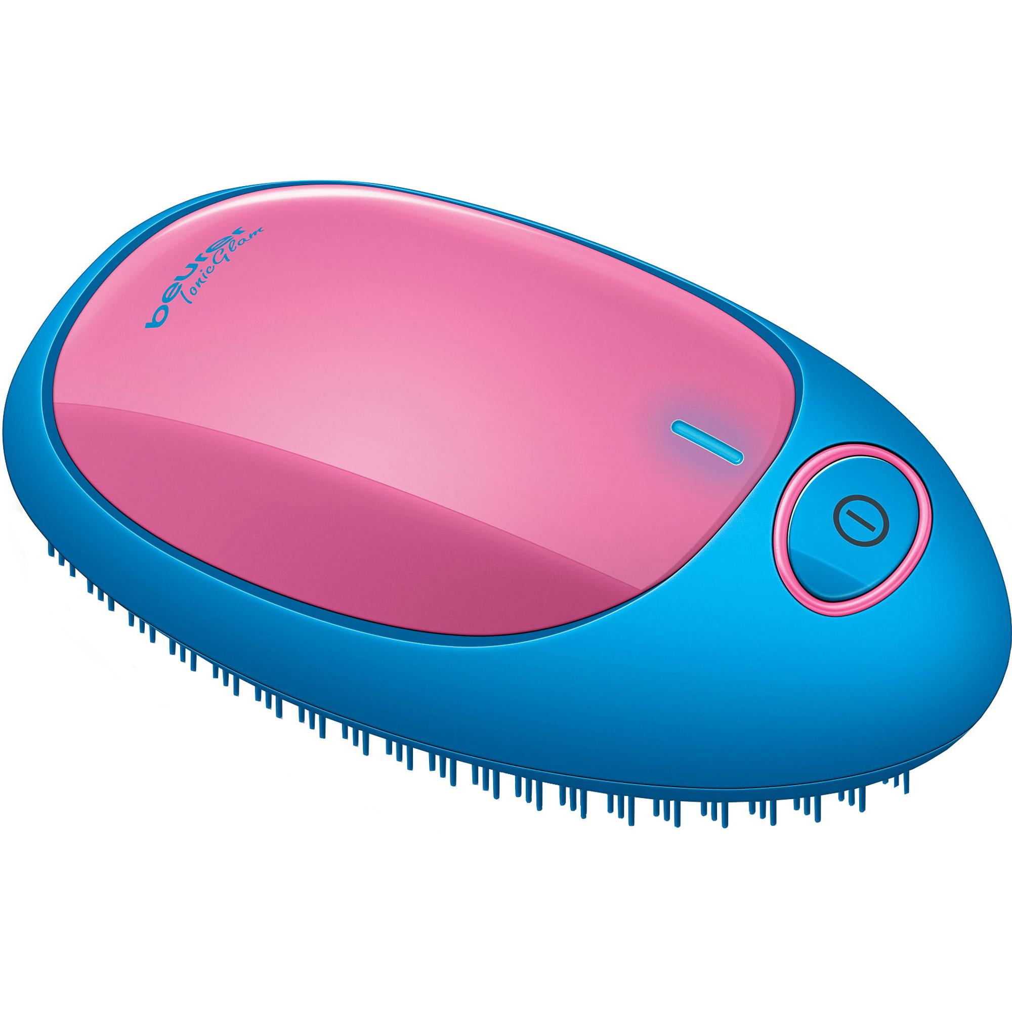 Стайлер для распутывания волос с ионизацией Beurer HT10 blue-pink расческа beurer ht10 blue pink 591 05