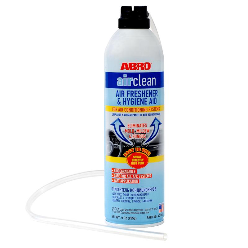 Фото - Очиститель кондиционера 255гр Abro очиститель двигателя abro dg 300 r 0 51 кг баллончик