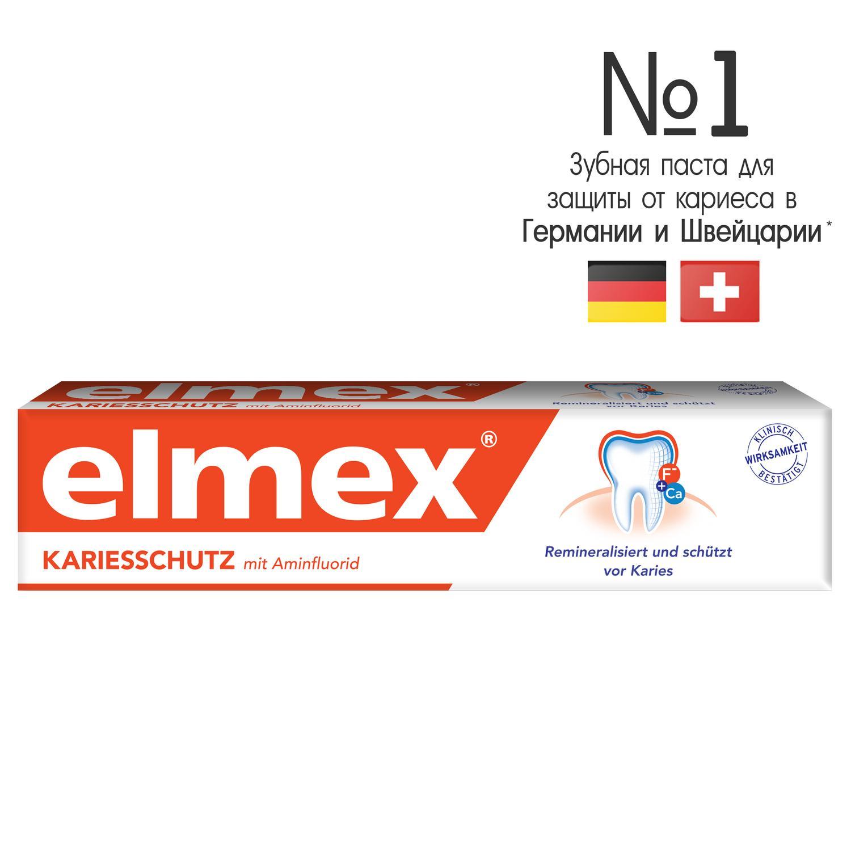Зубная паста Elmex Защита от кариеса 75 мл