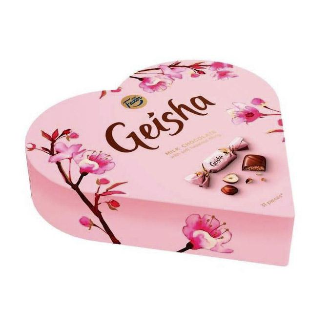Конфеты Geisha шоколадные 225 г