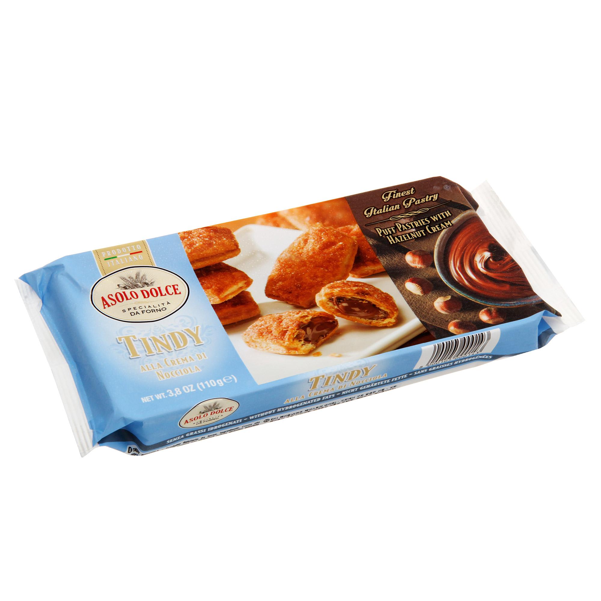 Печенье Asolo Dolce Tindy с ореховым кремом 110 г фото
