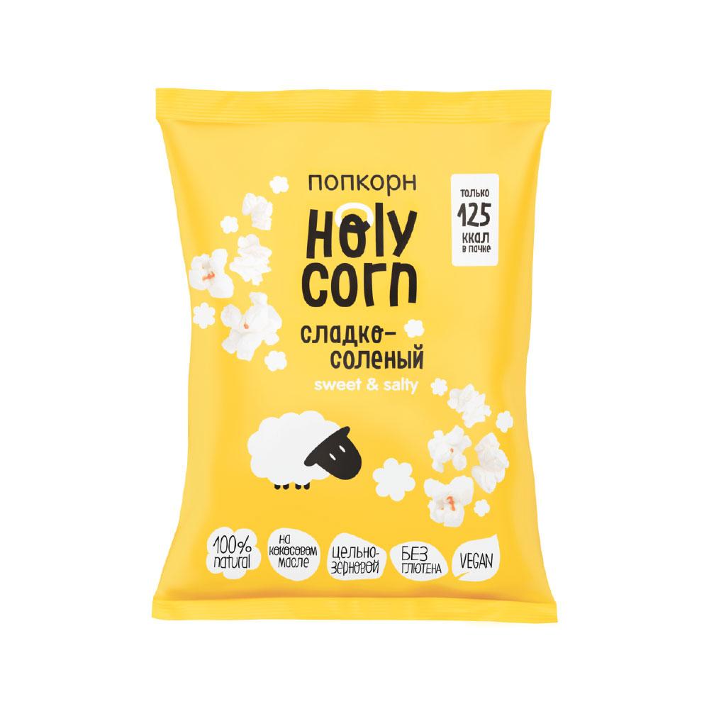 Попкорн Holy Corn Vegan Сладко-соленый 30 г
