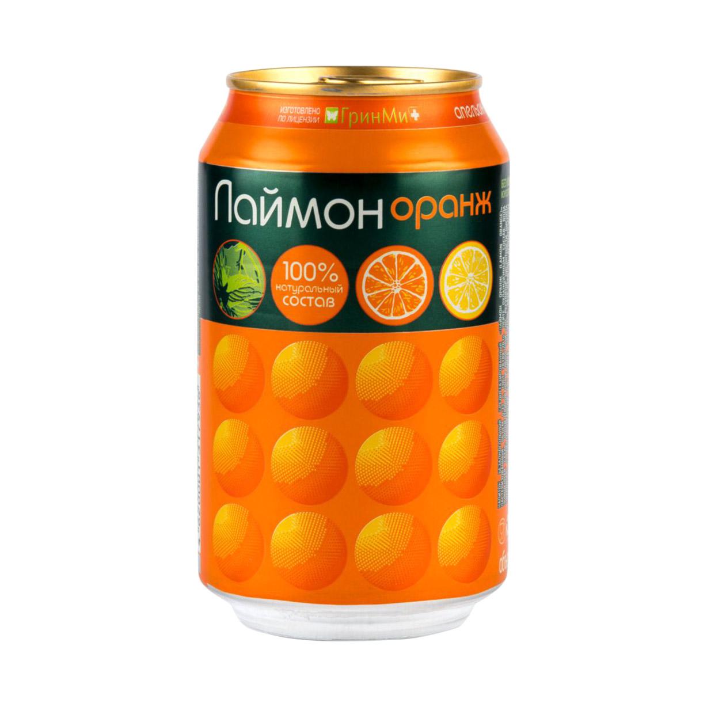 Напиток газированный Laimon Orange 330 мл напиток газированный laimon fresh 1 5 л
