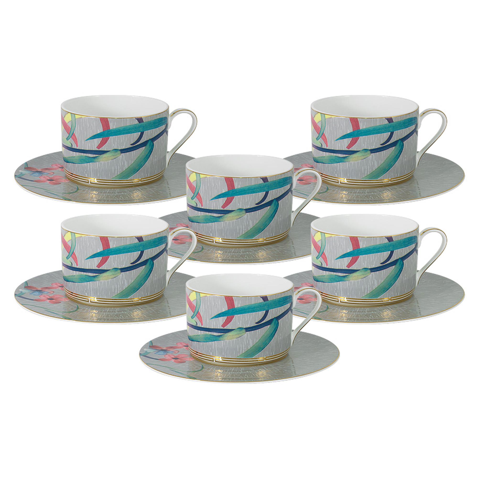Чайный набор Naomi Восточная лилия 12 предметов фото