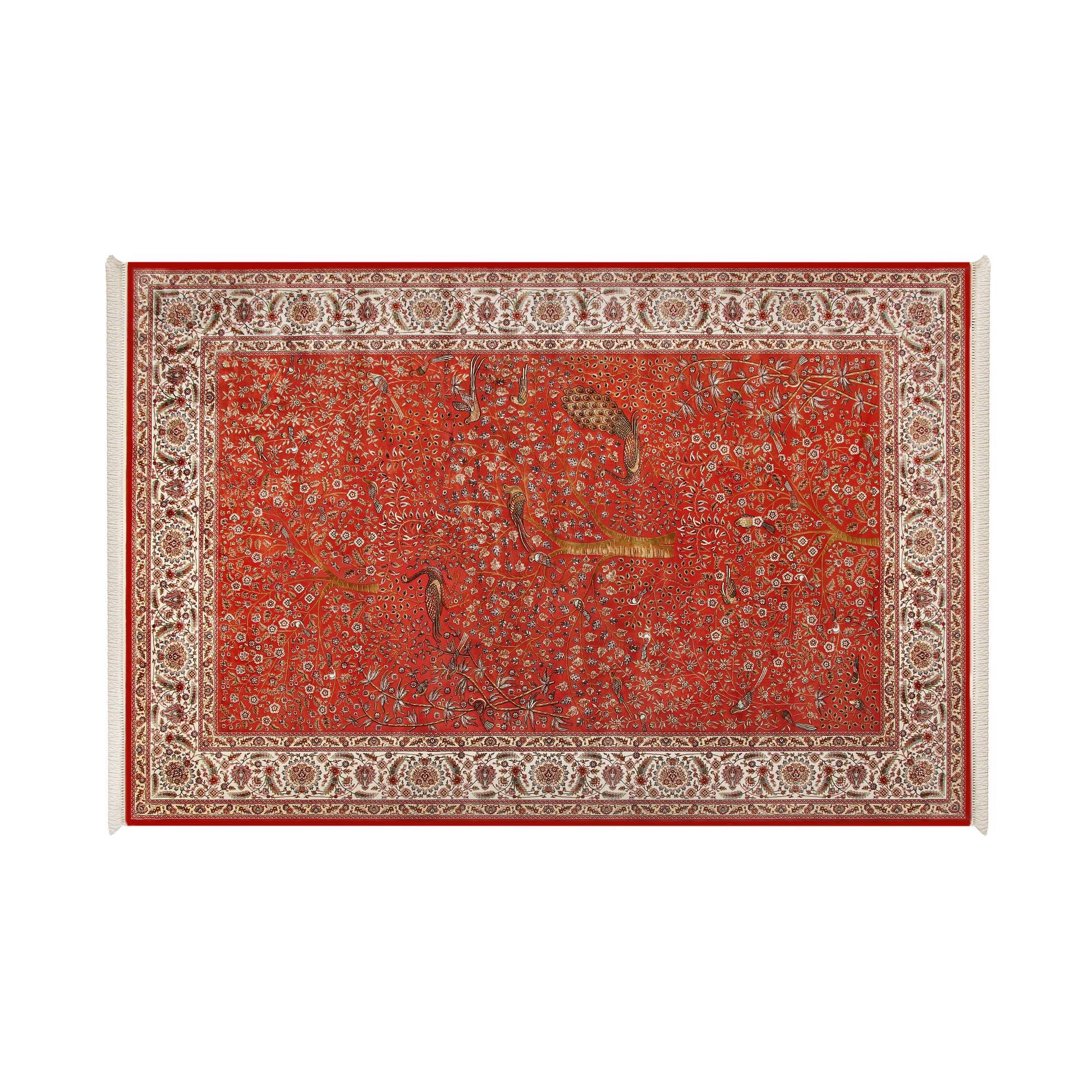Ковёр Ковровые галереи 2.00х3.00 unique 0is110 red n7