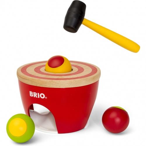 Купить Барабан 1TOY brio развивающий 5 элементов, Китай, дерево, Настольные игры