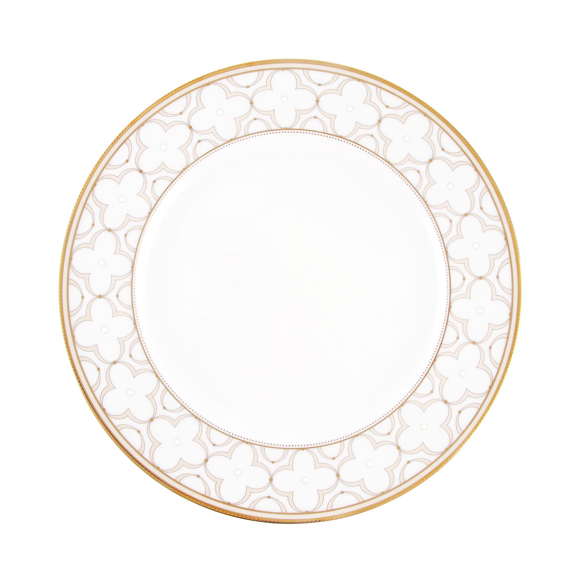 Тарелка обеденная Noritake Трефолио 28 см фото