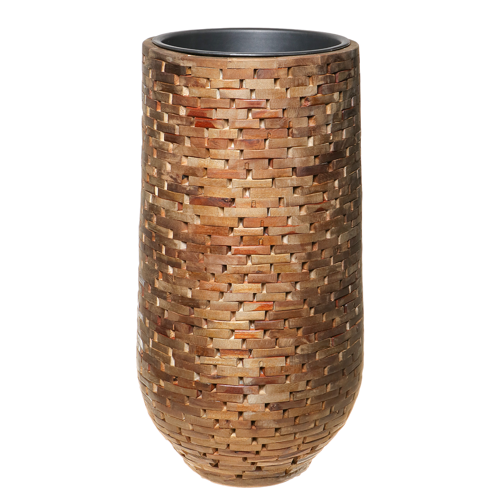 Кашпо Edelman flower abbot vase d32см h60см коричневое