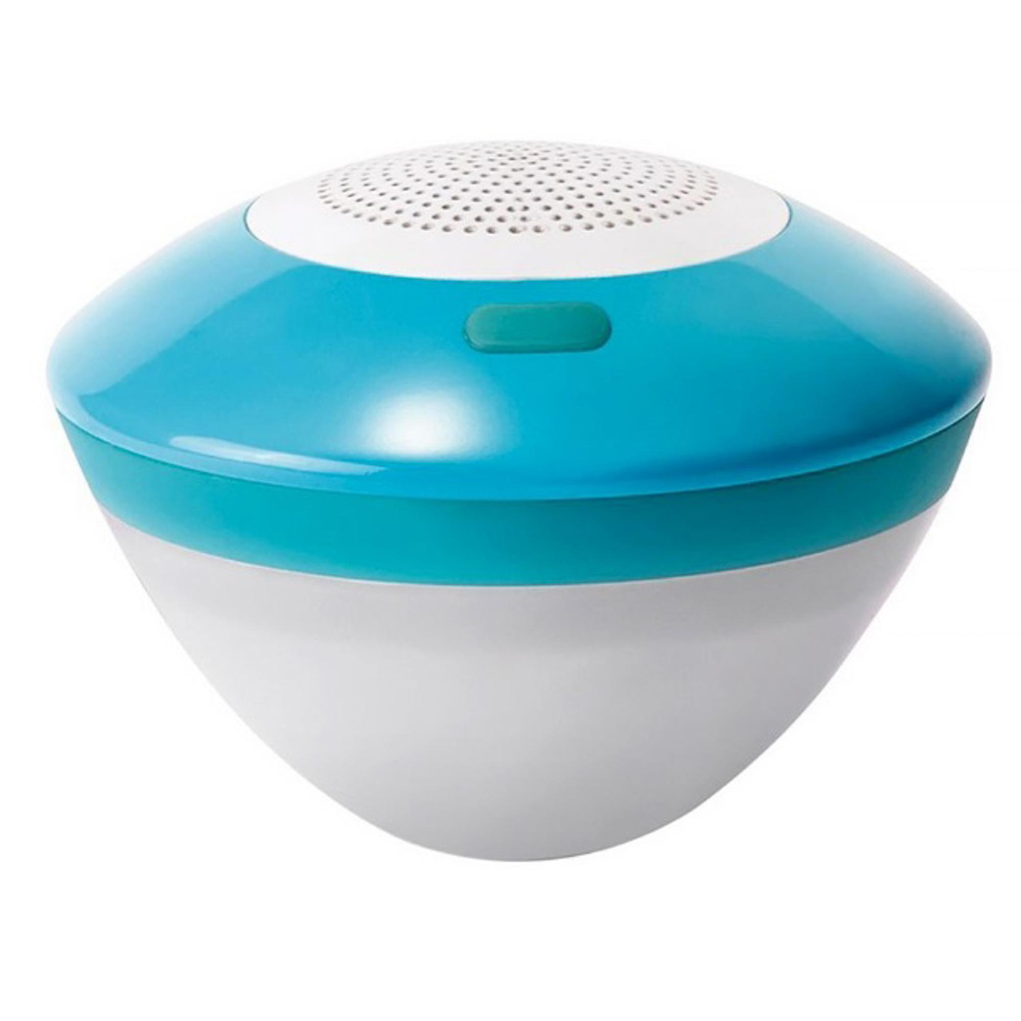 Плавающая музыкальная Bluetooth-колонка с Led-подсветкой Intex