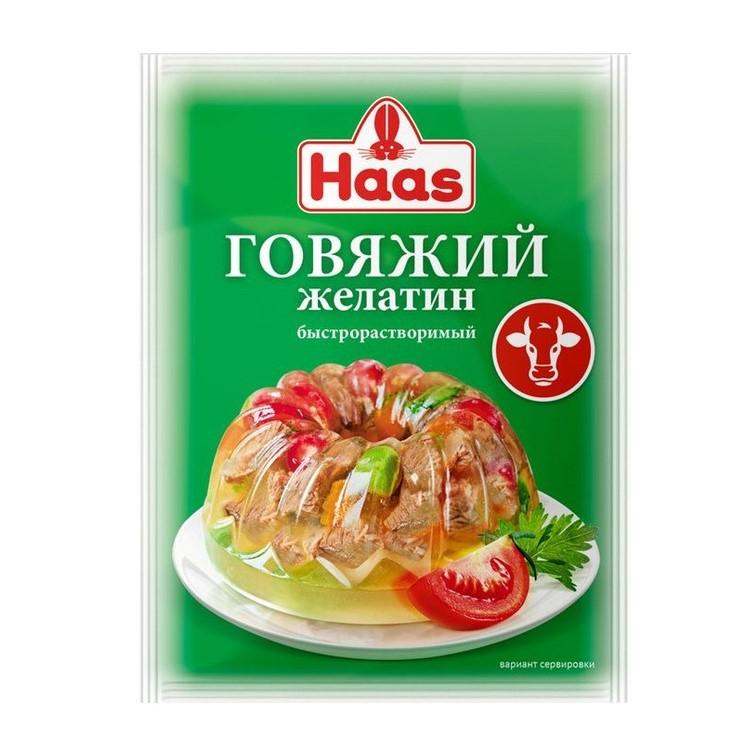 Фото - Желатин пищевой Haas говяжий 20 г желатин пищевой haas 10 г