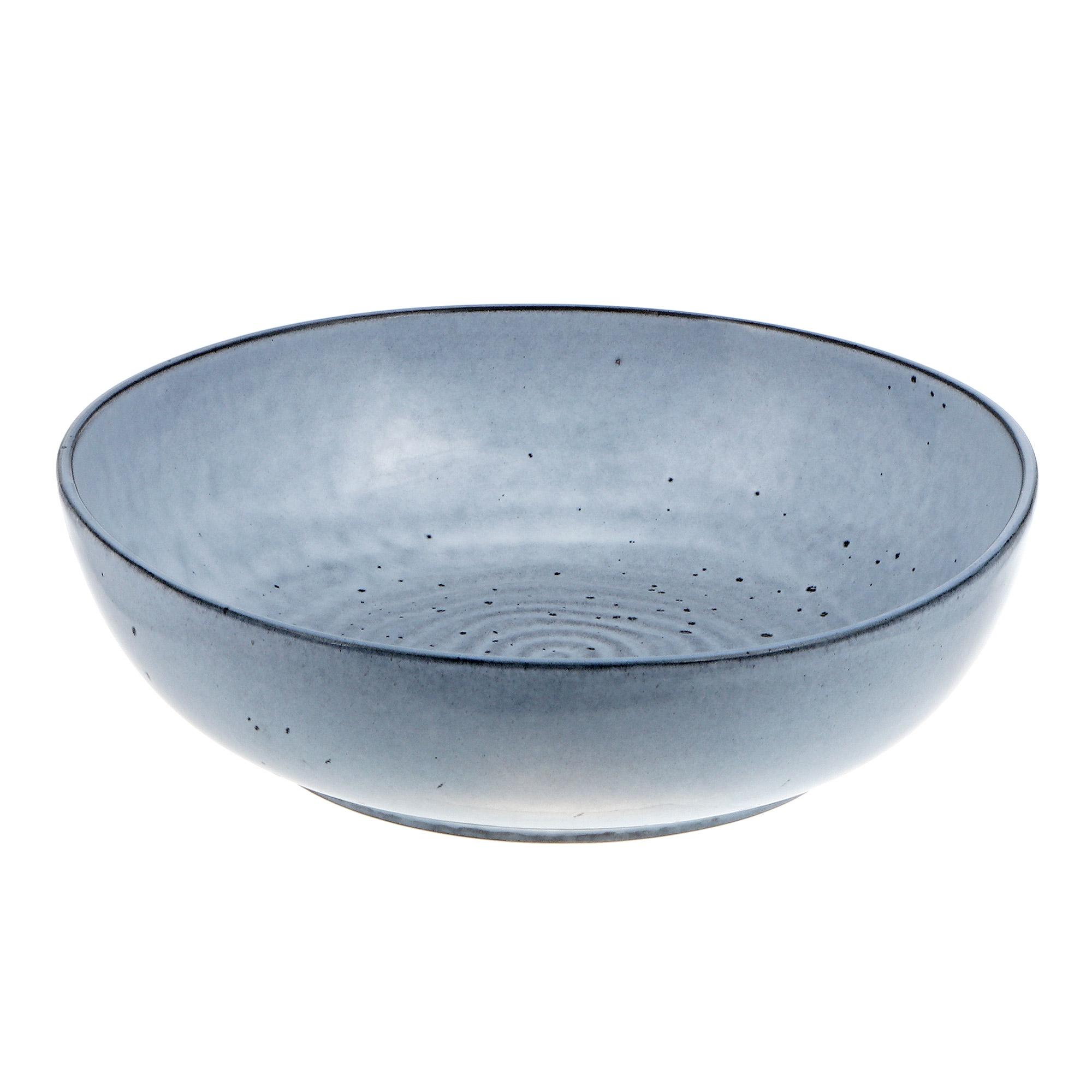 Купить Тарелка суповая 23см Tognana vulcania waves celeste, Китай, фарфор