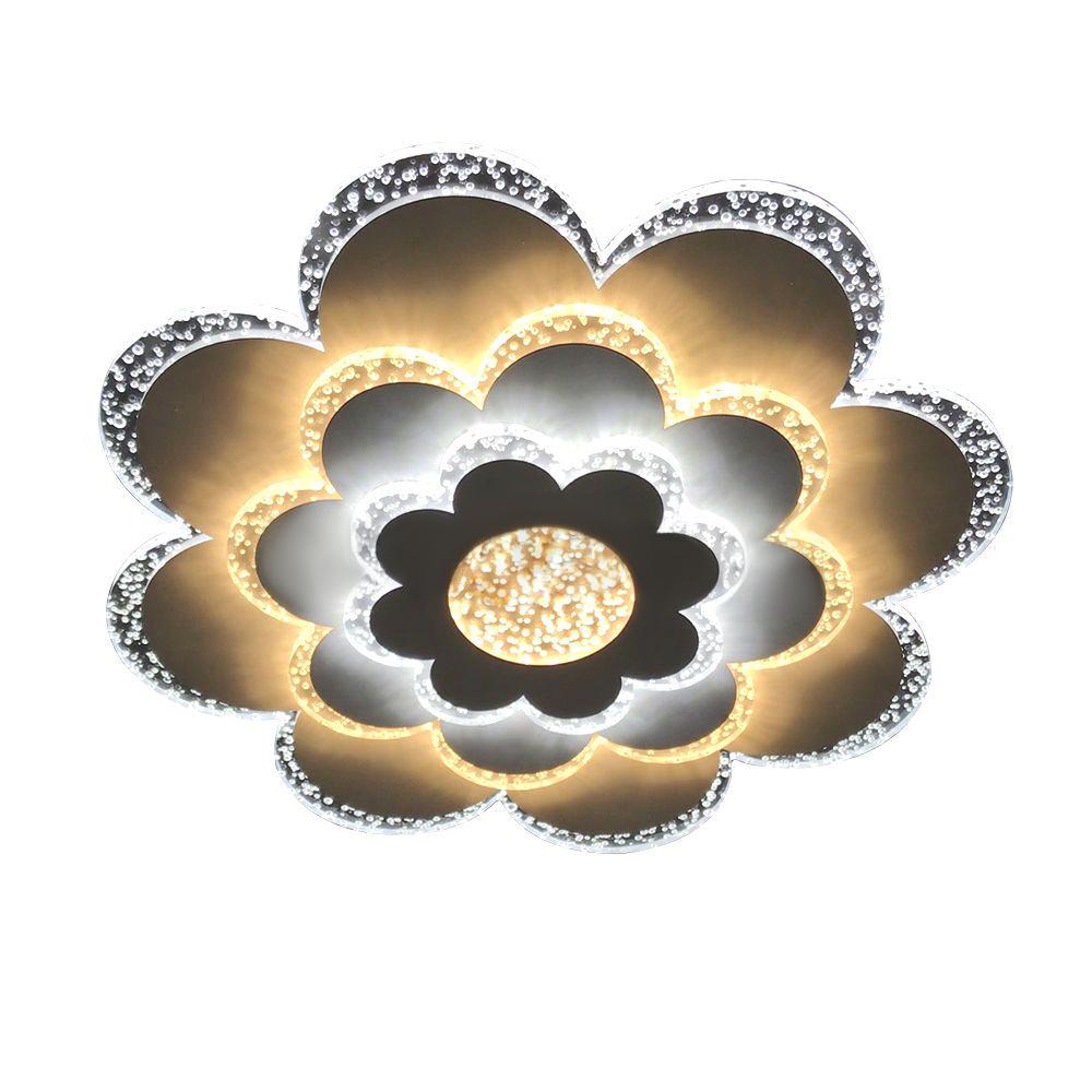 Фото - Светильник управляемый светодиодный Estares Camilla управляемый светодиодный светильник estares liana muse 80w r 600 chrome opal 220 ip20