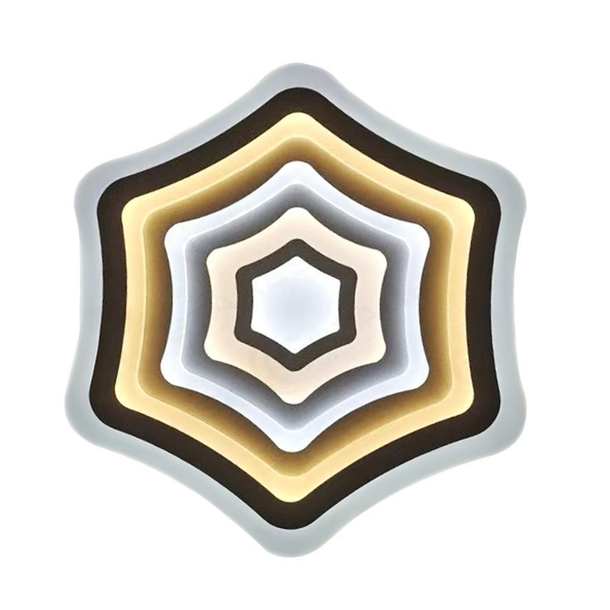 Фото - Светильник управляемый светодиодный Estares Flexion Double управляемый светодиодный светильник estares liana muse 80w r 600 chrome opal 220 ip20