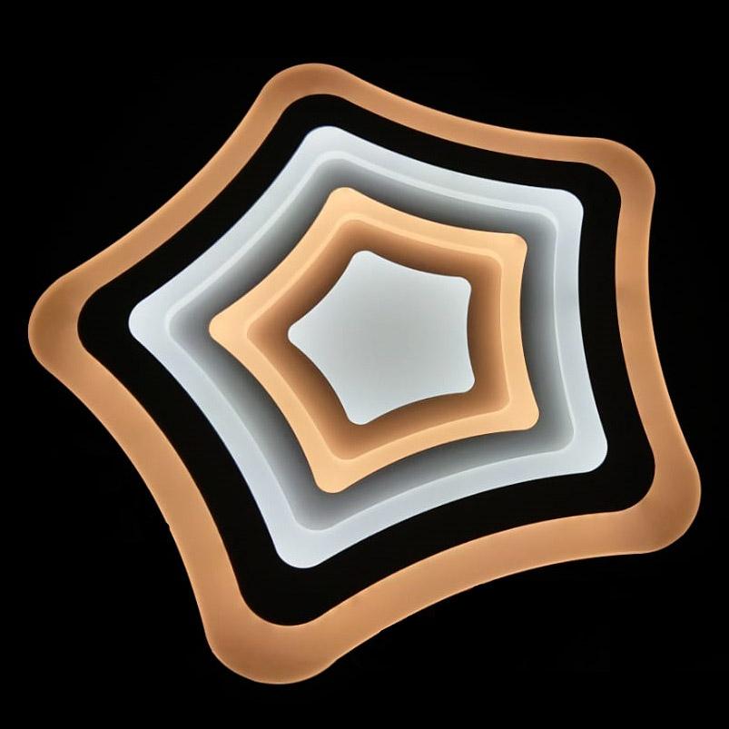 Фото - Светильник управляемый светодиодный Estares Flexion Double White управляемый светодиодный светильник estares liana muse 80w r 600 chrome opal 220 ip20