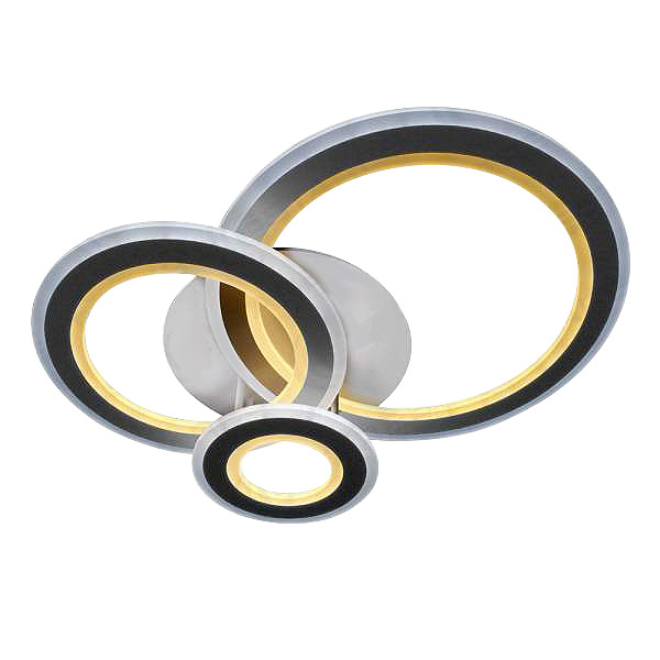 Фото - Светильник управляемый светодиодный Estares Triplex Round управляемый светодиодный светильник estares liana muse 80w r 600 chrome opal 220 ip20