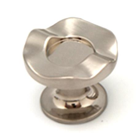 Ручка-кнопка Феникс-строй 47х47х40 мм атласный никель