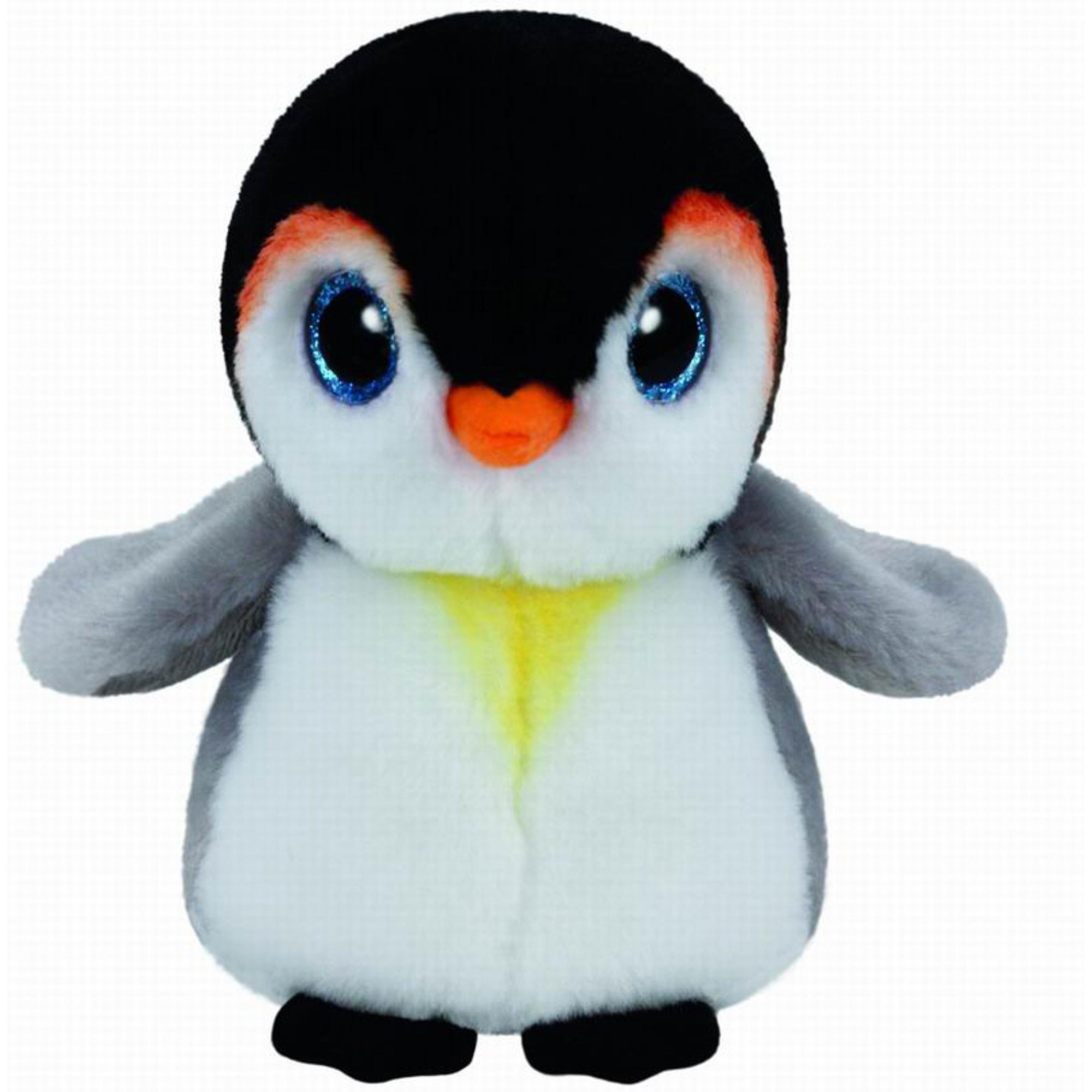 Мягкая игрушка TY Beanie Babies Пингвин pongo 15 см