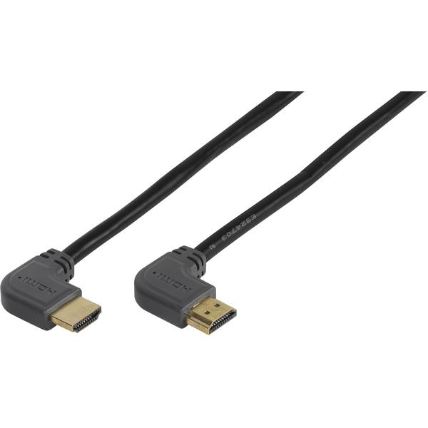Фото - Кабель Vivanco HDMI-HDMI угловой 1,5 м 47106 кинотеатр
