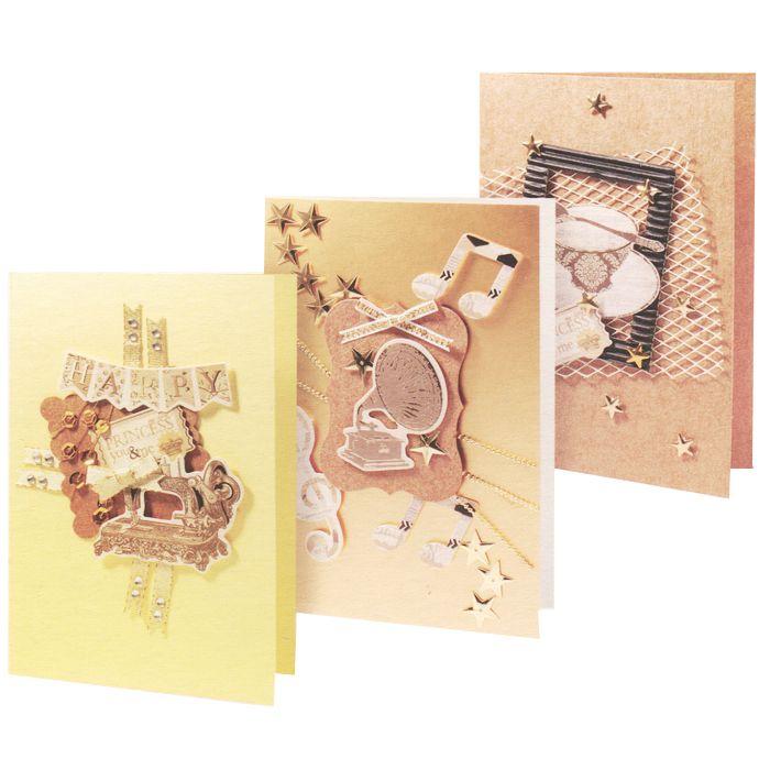 Набор для создания открыток Белоснежка Кофейный белоснежка вn4300sg