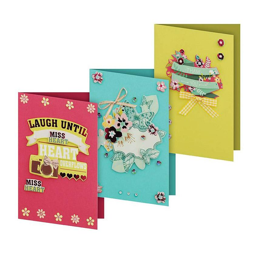 Набор для создания открыток Белоснежка Сказка набор для создания открыток белоснежка веселая мозаика