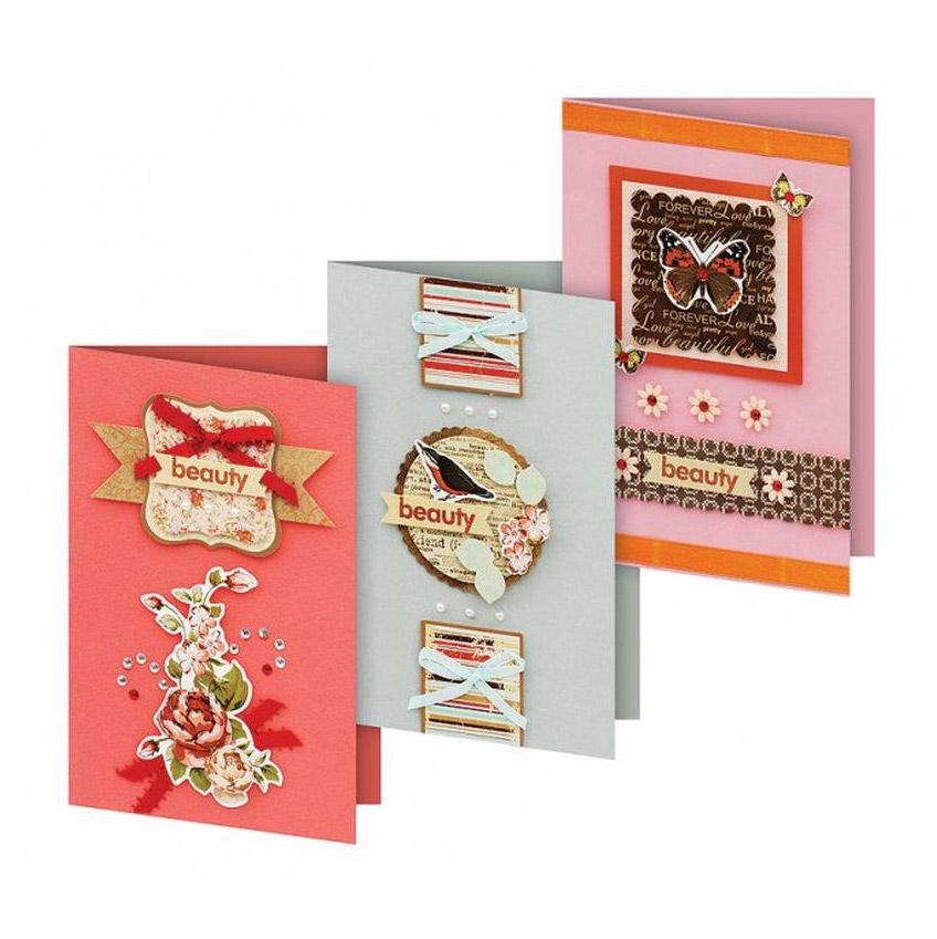Набор для создания открыток Белоснежка Фантазия набор для создания открыток белоснежка веселая мозаика