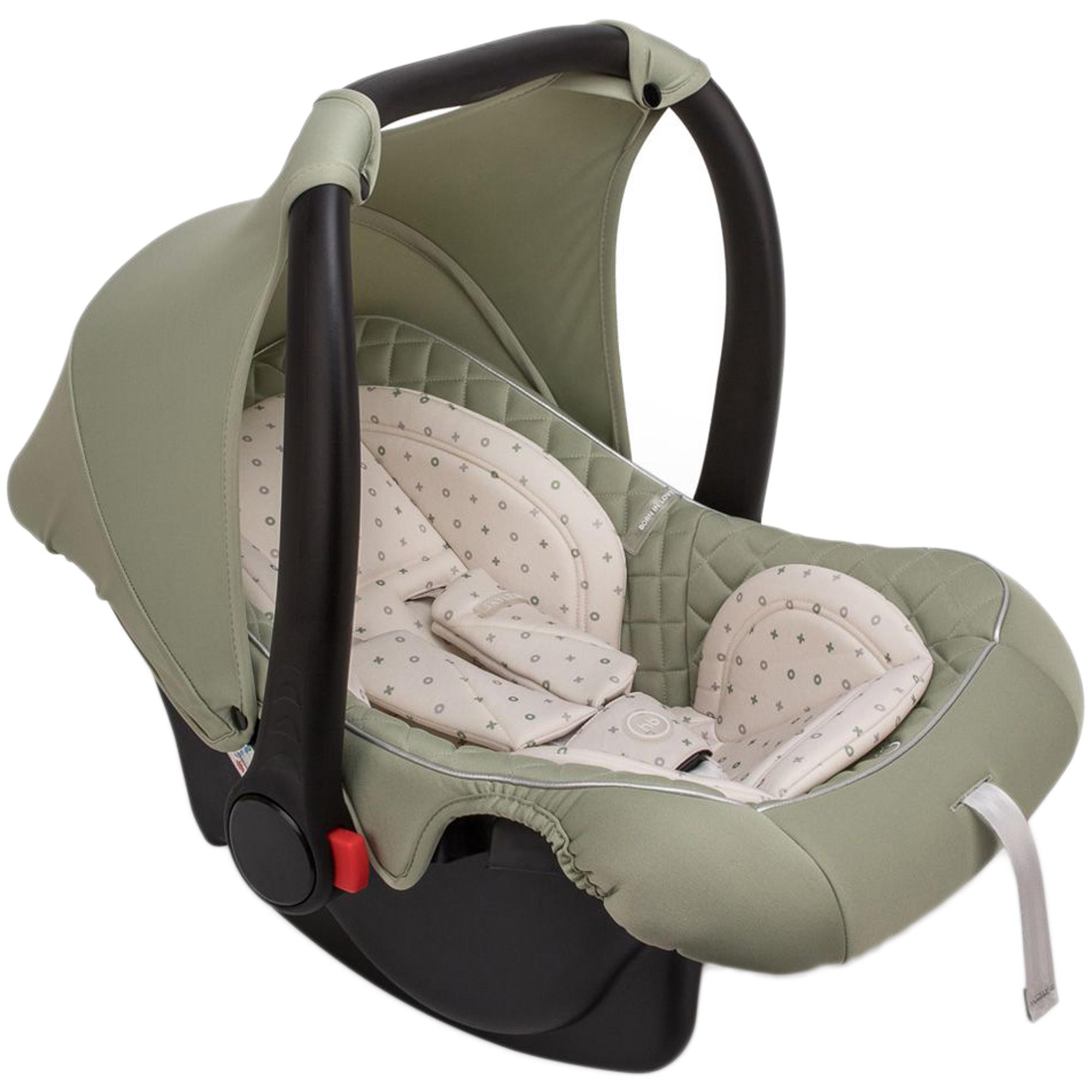 Фото - Автокресло-переноска Happy Baby Skyler V2 Green автокресло happy baby passenger v2 graphite черный