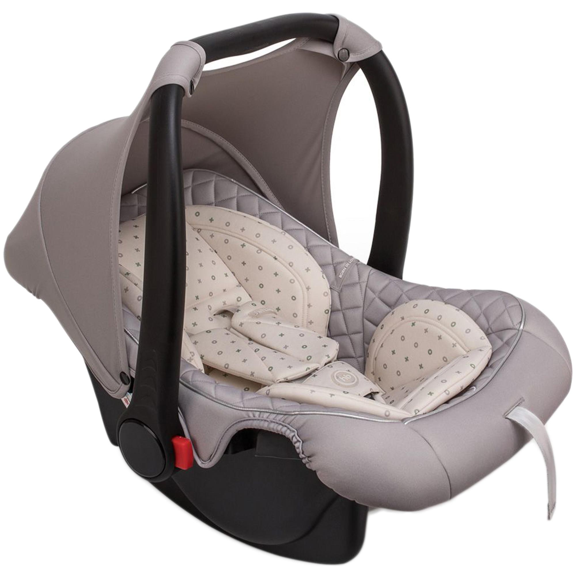 Фото - Автокресло-переноска Happy Baby Skyler V2 Stone автокресло happy baby passenger v2 graphite черный