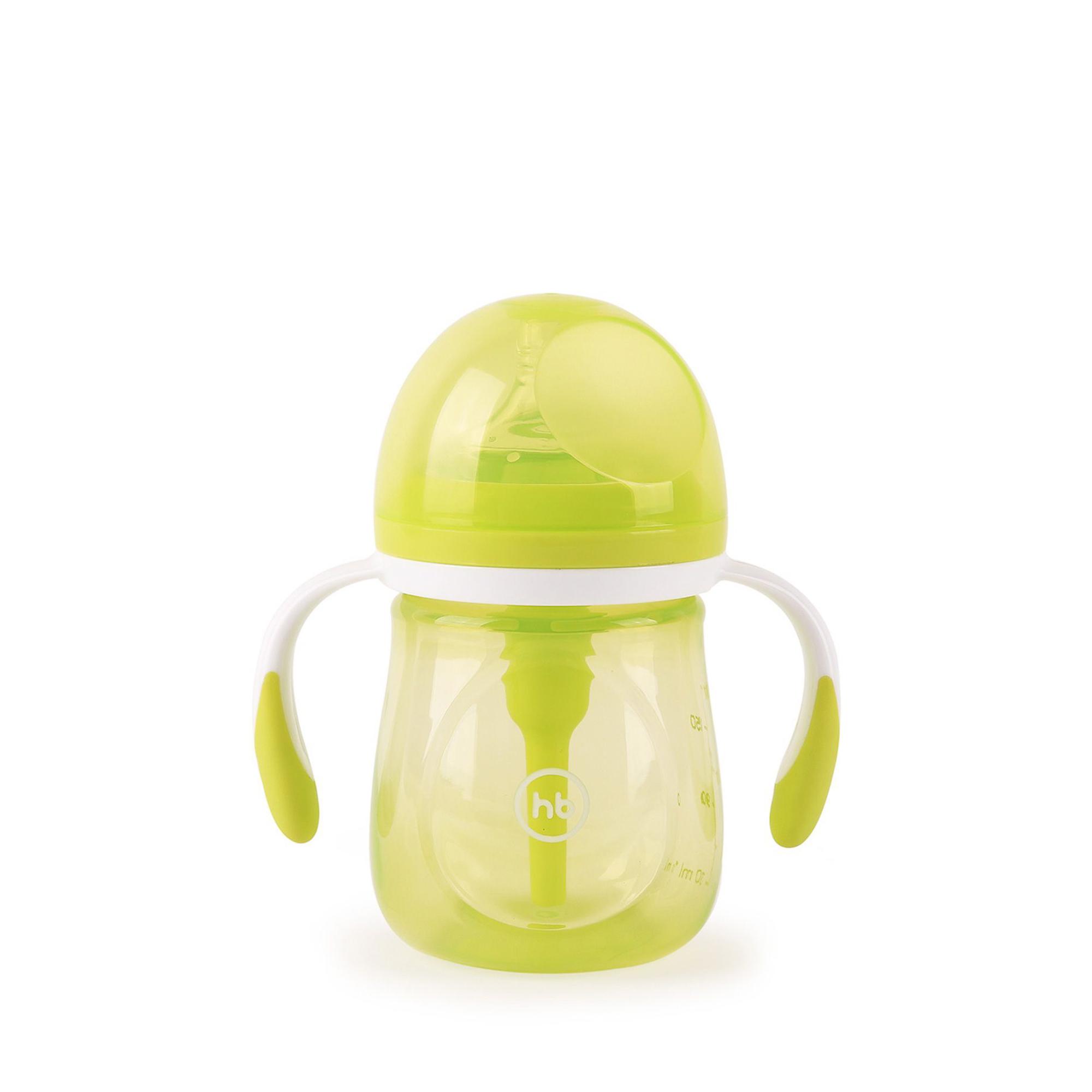 Купить Бутылочка антиколиковая Happy Baby Lime 0, 18 л, Китай, зеленый, Детская посуда и аксессуары