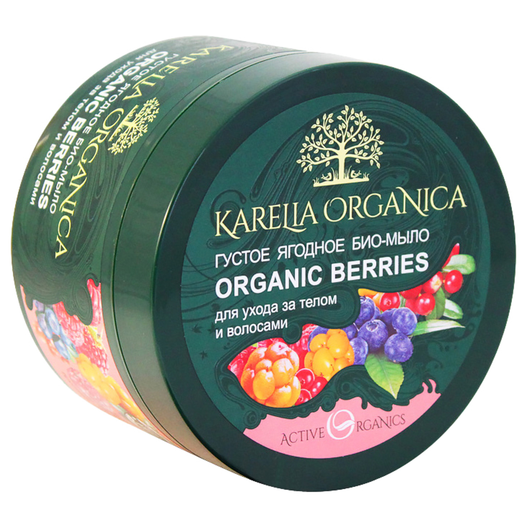 Мыло Фратти НВ Karelia Organica Organic Berries густое 500 г фото