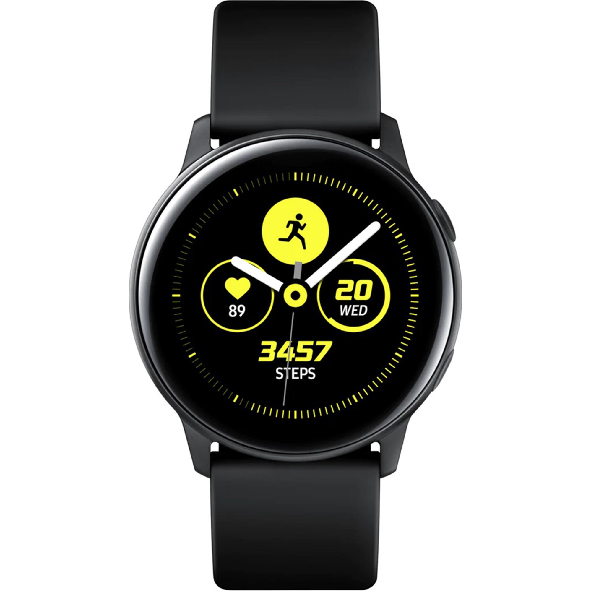Фото - Умные часы Samsung Galaxy Watch Active Черный сатин смарт часы samsung galaxy watch 1 3 super amoled серебристый sm r800nzsaser