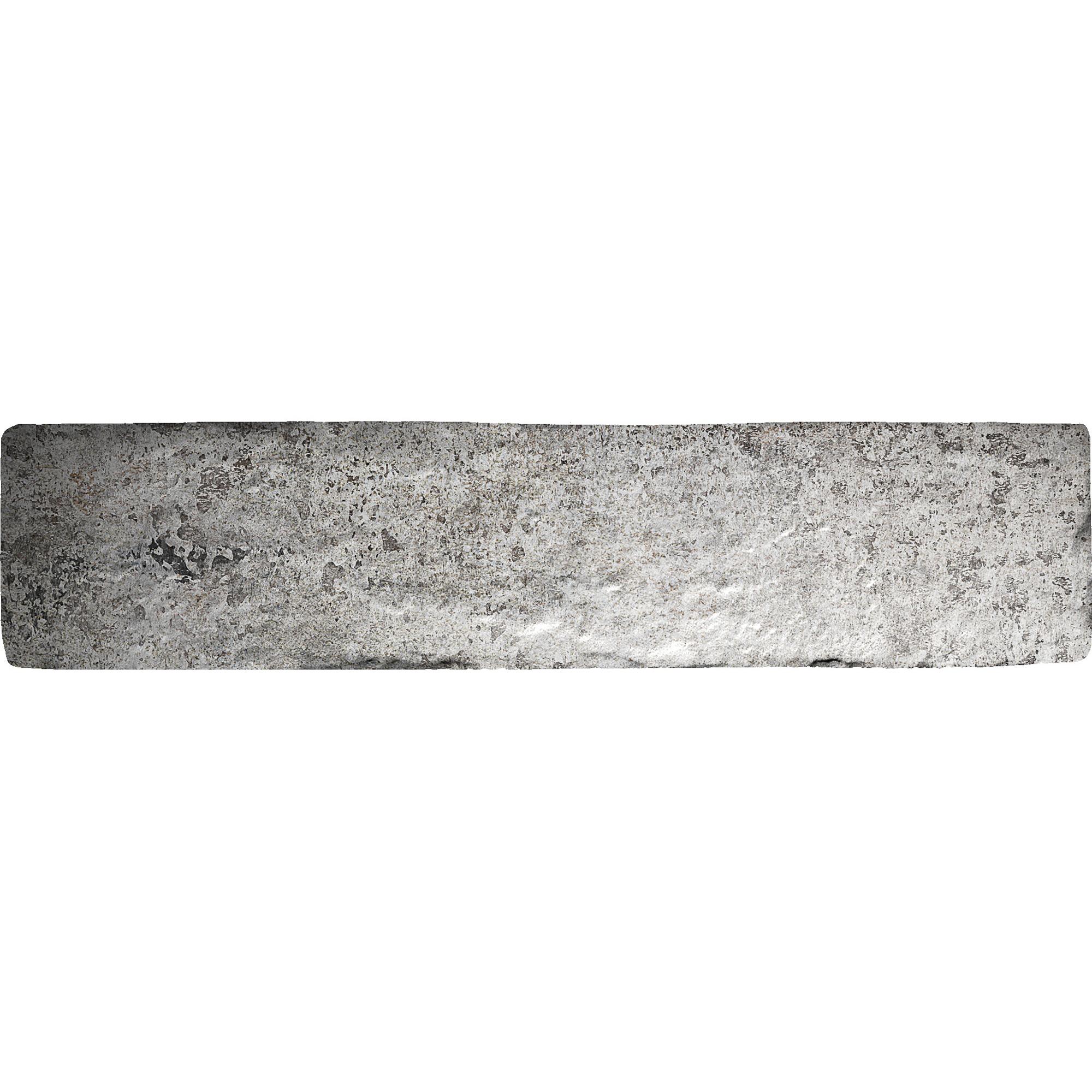 Плитка BrickStyle Seven tones Серый 6x25 см фото