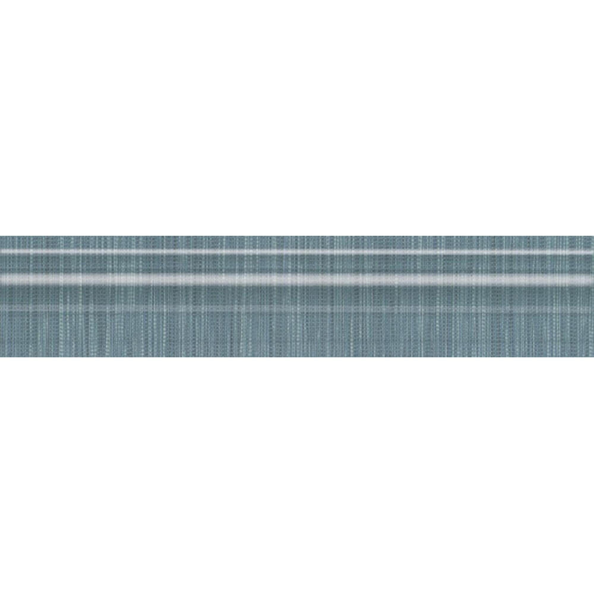 Бордюр Kerama Marazzi Пальмовый лес синий 25x5,5 см BLE012 недорого