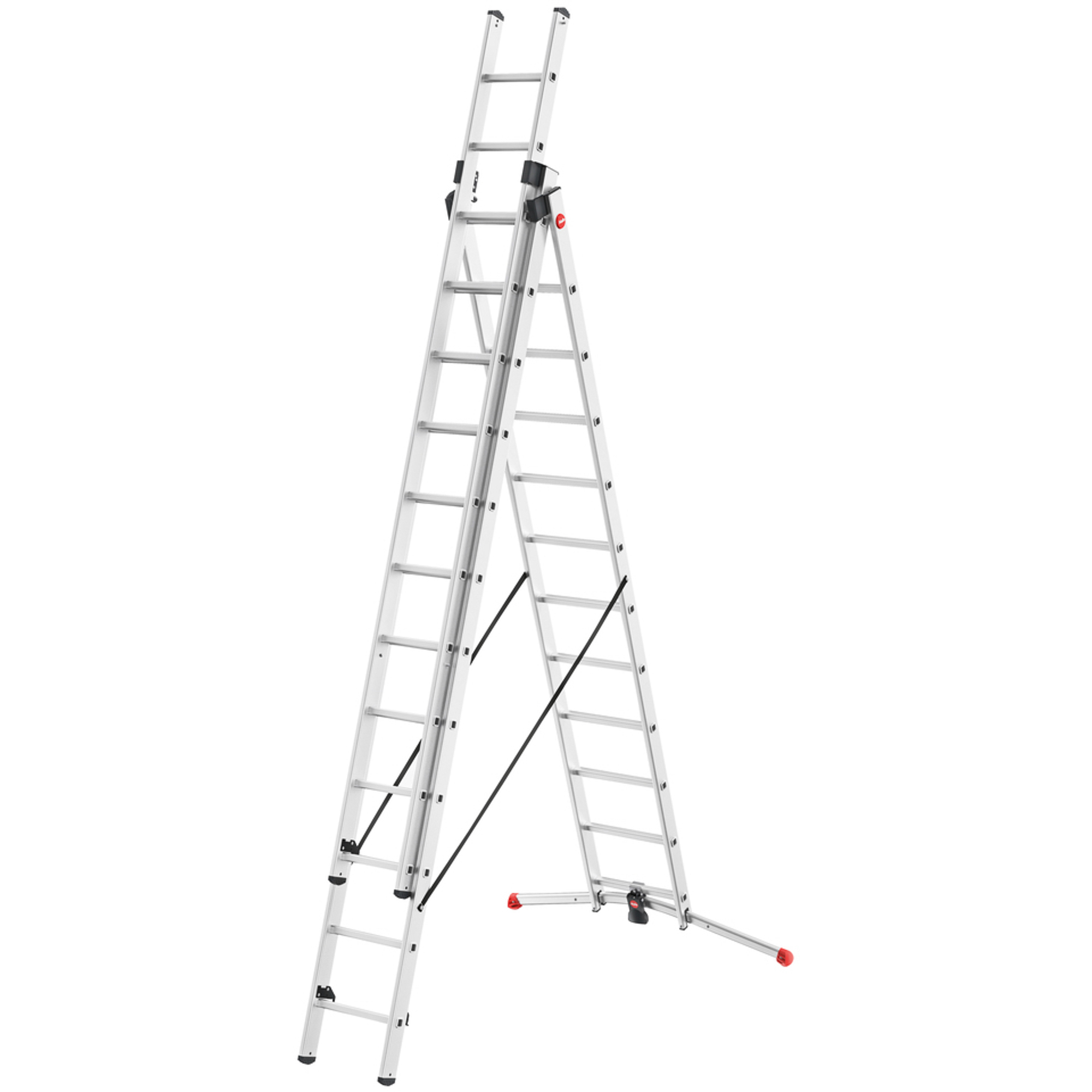 Лестница-стремянка 3х12ступеней Hailo стремянка табурет 2 ступени hailo