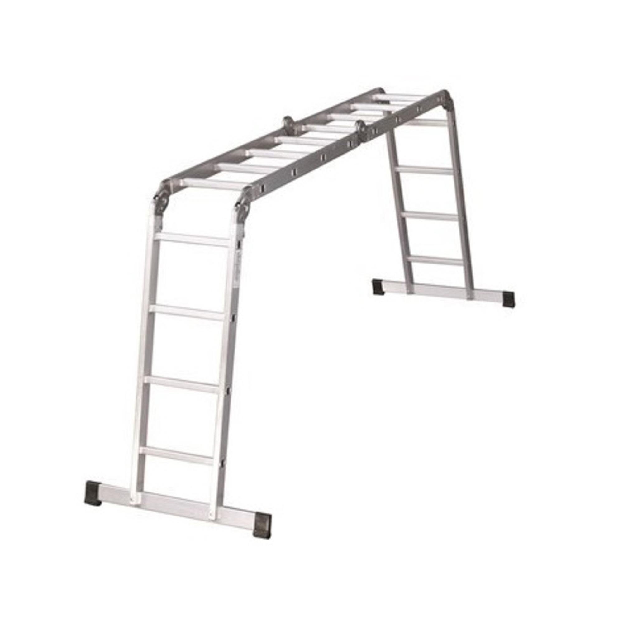 Фото - Лестница-трансформер 2х4+2х5 Ufuk лестница приставная новая высота односекционная алюминиевая 1х8 бытовая