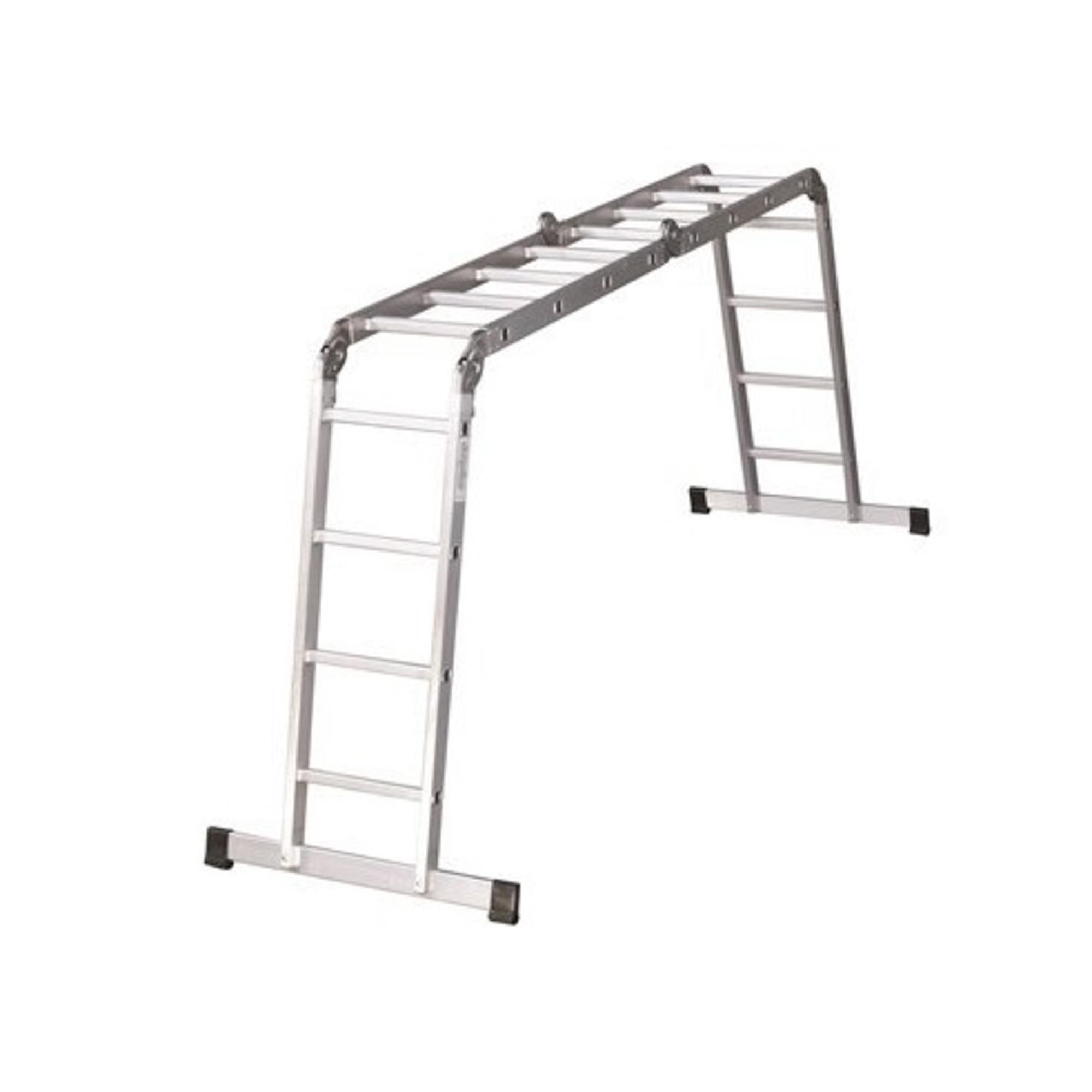 Фото - Лестница-трансформер 4х5 Ufuk лестница приставная новая высота односекционная алюминиевая 1х8 бытовая